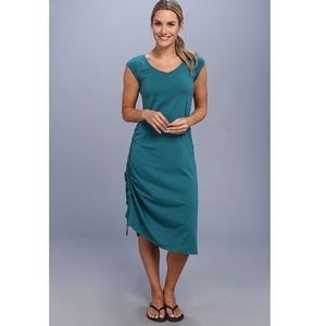 Horny Toad & Co Teal Green Organic Dress L NWT 12